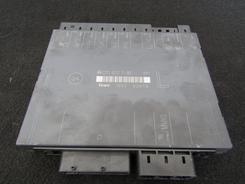 General Module Comfort Relay Mercedes-Benz S-CLASS 2002    3.2 2208201185