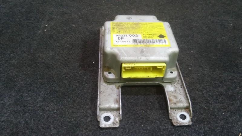 Airbag crash sensors module Mitsubishi Lancer 1995    1.6 mr238992