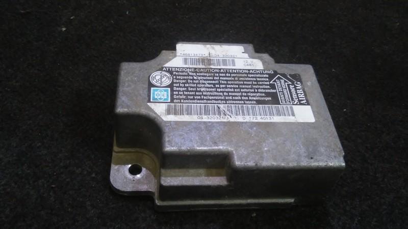 Airbag crash sensors module 46813473 04-320321 Alfa-Romeo 147 2000 1.9