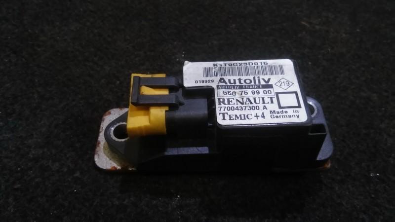 Srs Airbag crash sensor Renault Megane 2001    1.6 550759900