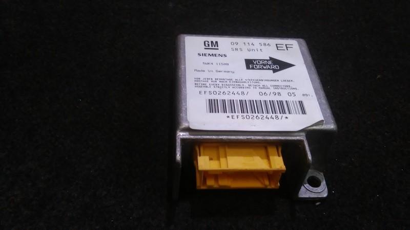 Блок управления AIR BAG  09114586 efs0262448 Opel TIGRA 1995 1.6
