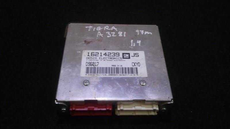 Блок управления двигателем 16214239 d96017 Opel TIGRA 1995 1.6