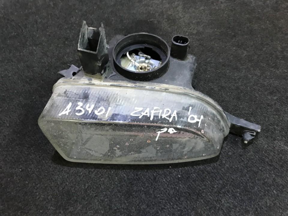 Противотуманная фара - передний правый Opel  Zafira, A 1999.04 - 2003.11