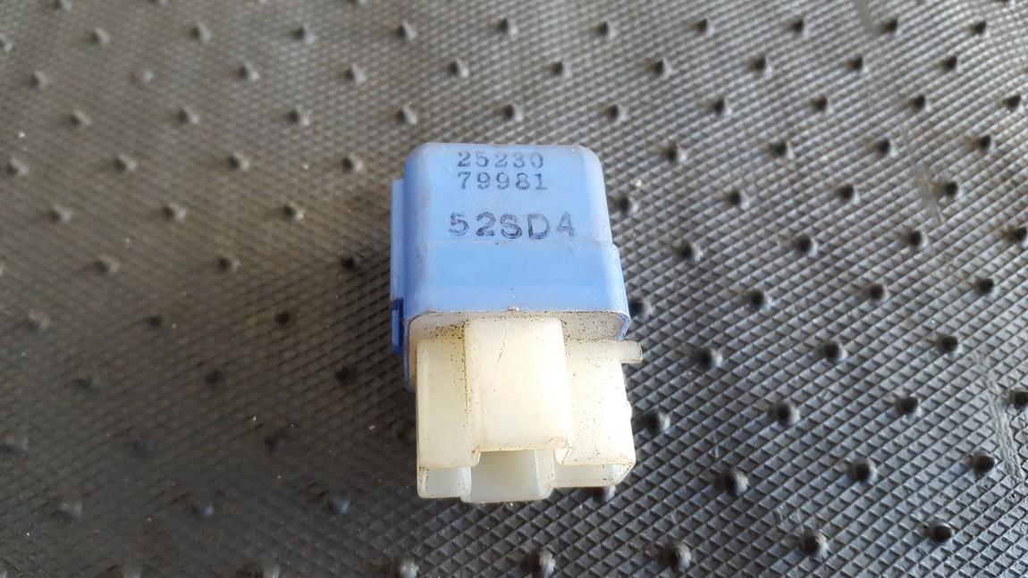 Rele 2523079981 25230, 79981, 52SD4 Nissan ALMERA 2000 2.0