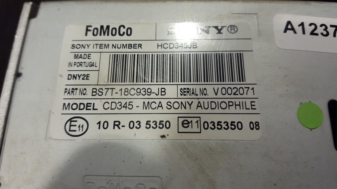 Авторадио Ford Mondeo 2009    0.0 BS7T18C939JB