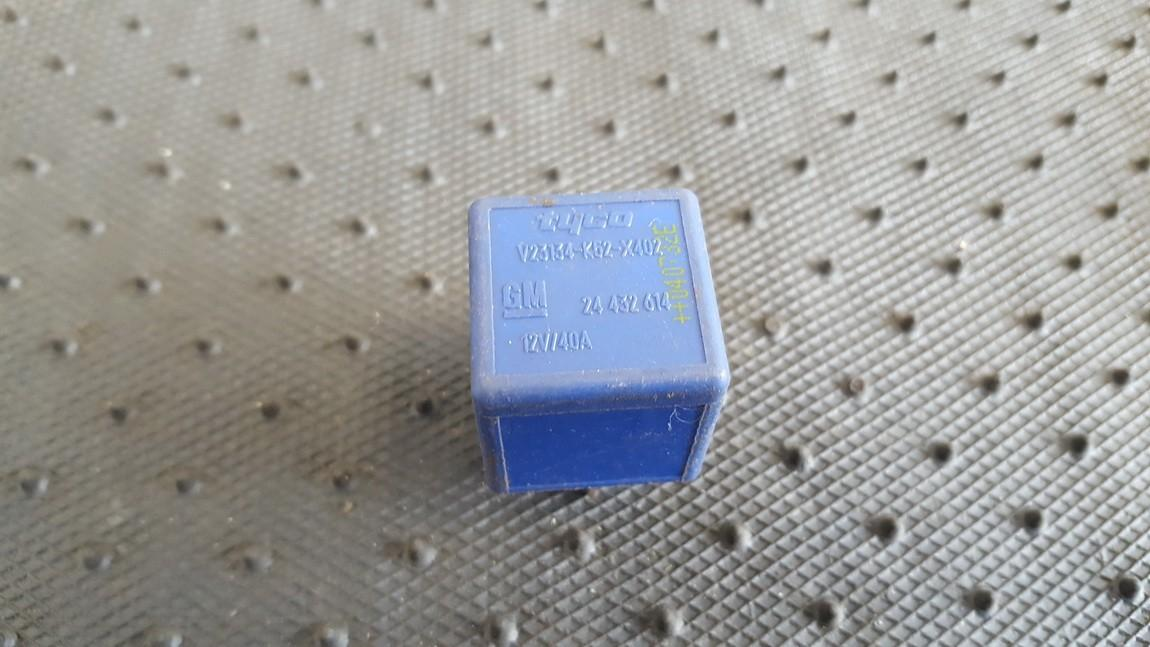 Rele 24432614 GM24432614, V23134-K52-X402, V23134K52X402 Opel ASTRA 2002 2.0