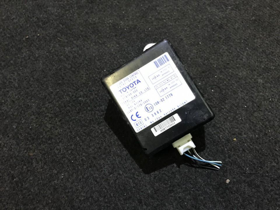 Kiti kompiuteriai 897410f010 89741-0f010, 61b168-000 Toyota COROLLA VERSO 2002 1.8