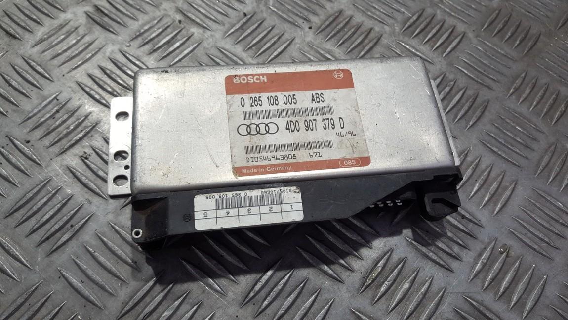 ABS kompiuteris 0265108005 4D0907379D Audi A4 1995 1.6