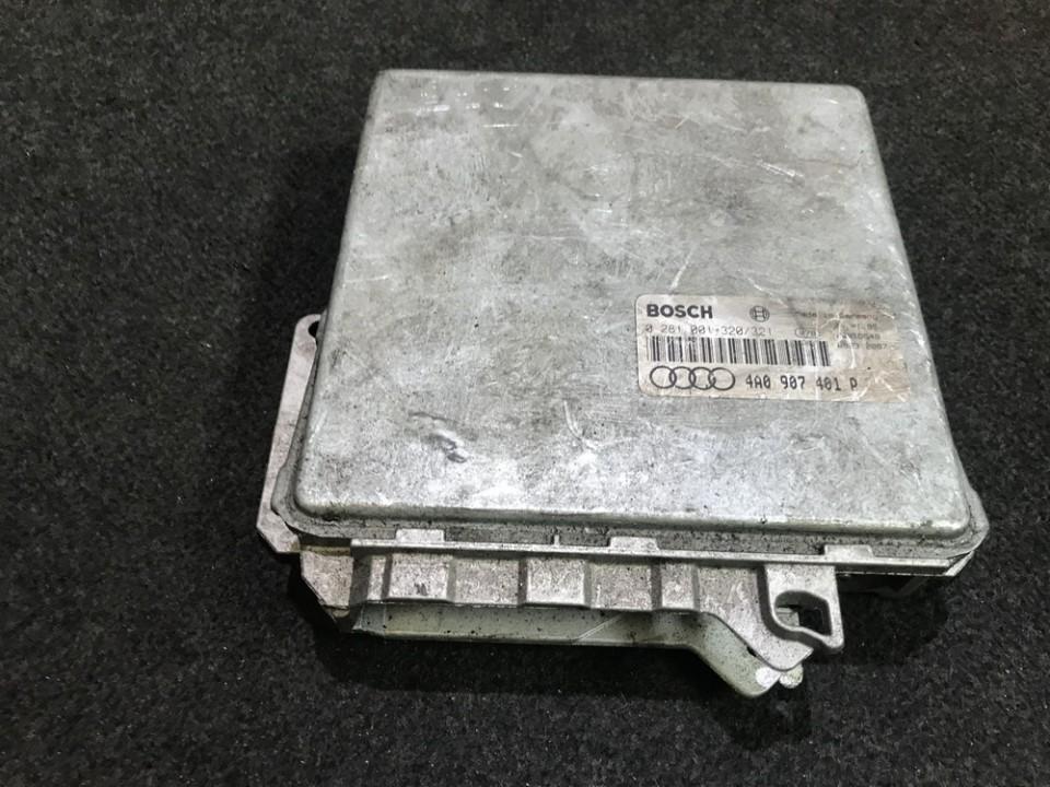 Variklio kompiuteris 0281001320 4a0907401p Audi A6 1998 2.5