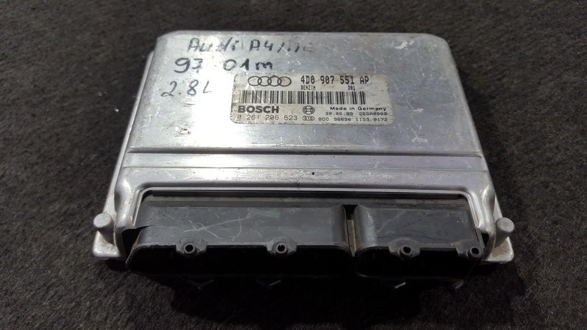 Variklio kompiuteris 4D0907551AP 0261206623, 26SA0000, 9663011590172 Audi A4 2006 2.7