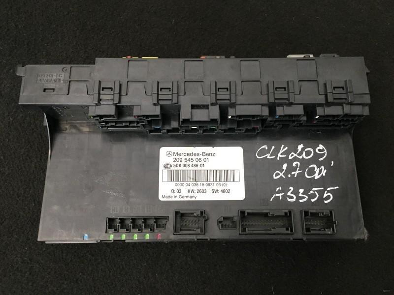 Fuse box  2095450601 5dk008486-01 Mercedes-Benz CLK-CLASS 2005 2.7