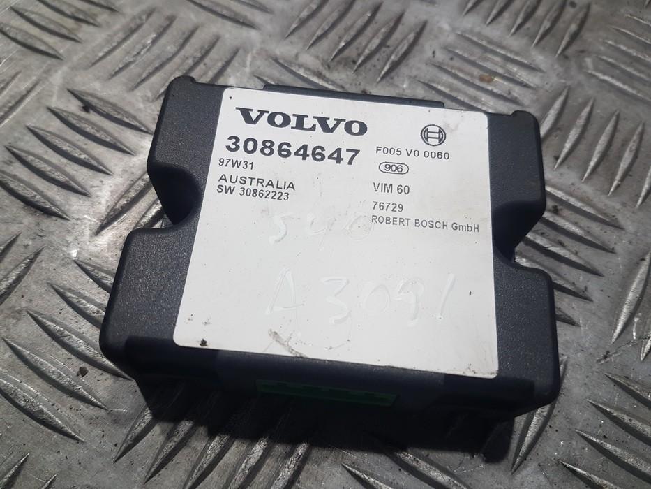 Иммобилайзер блок Volvo S40 1997    1.6 30864647