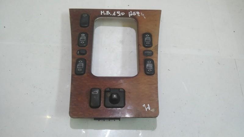 Stiklo valdymo mygtukas (lango pakeliko mygtukai) a2106808639 n/a Mercedes-Benz E-CLASS 2001 2.9
