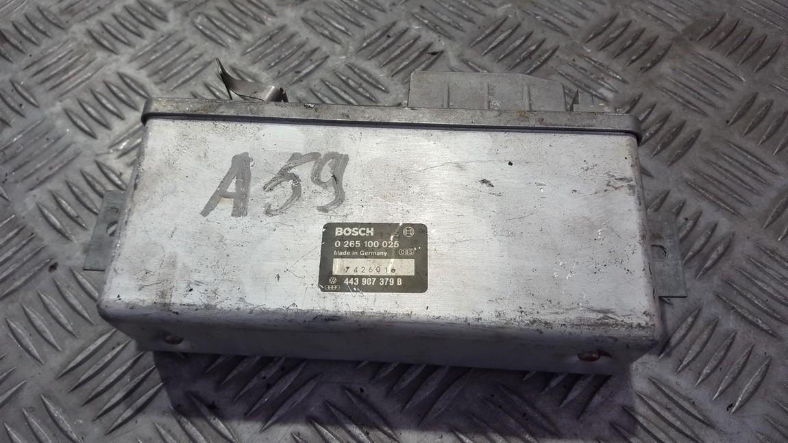 ABS kompiuteris 0265100025 443907379b Audi 100 1993 2.0