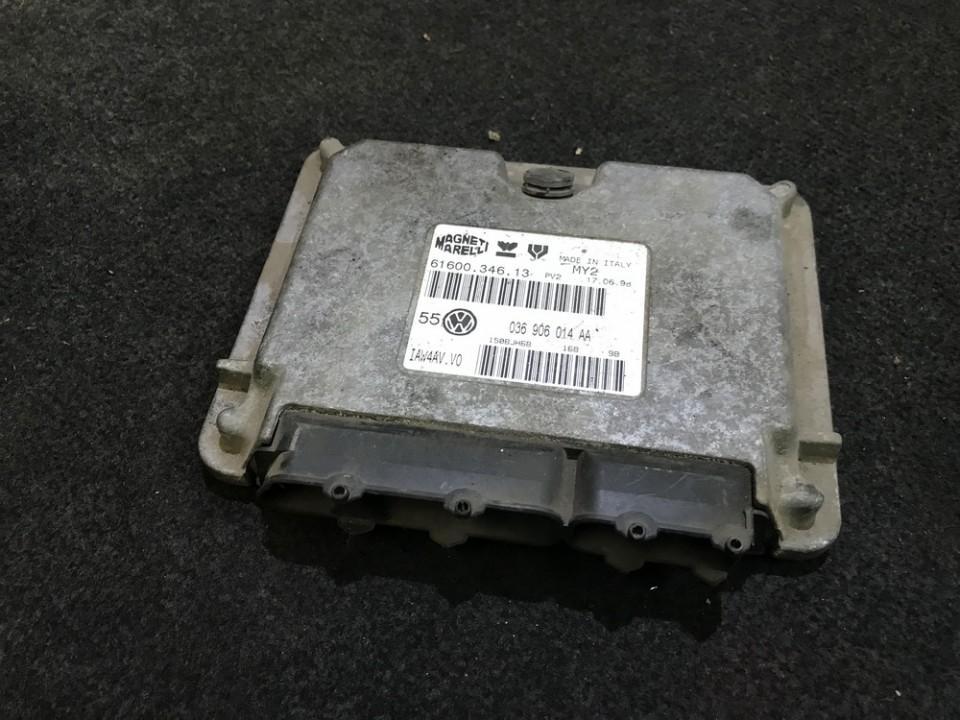 Variklio kompiuteris 036906014aa 6160034613 Volkswagen GOLF 2007 2.0
