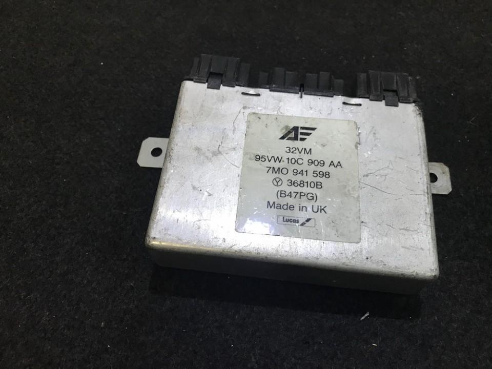 Sviesu valdymo blokas 95VW10C909AA 7m0941598 Volkswagen SHARAN 2003 1.9