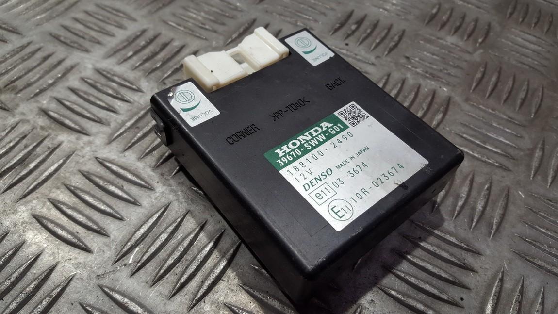 Блок управления парковочным Honda CR-V 2009    0.0 1881002490