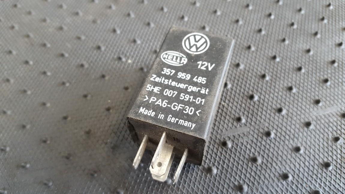 Rele 357959485 5HE007591-01 Volkswagen SHARAN 1999 1.9
