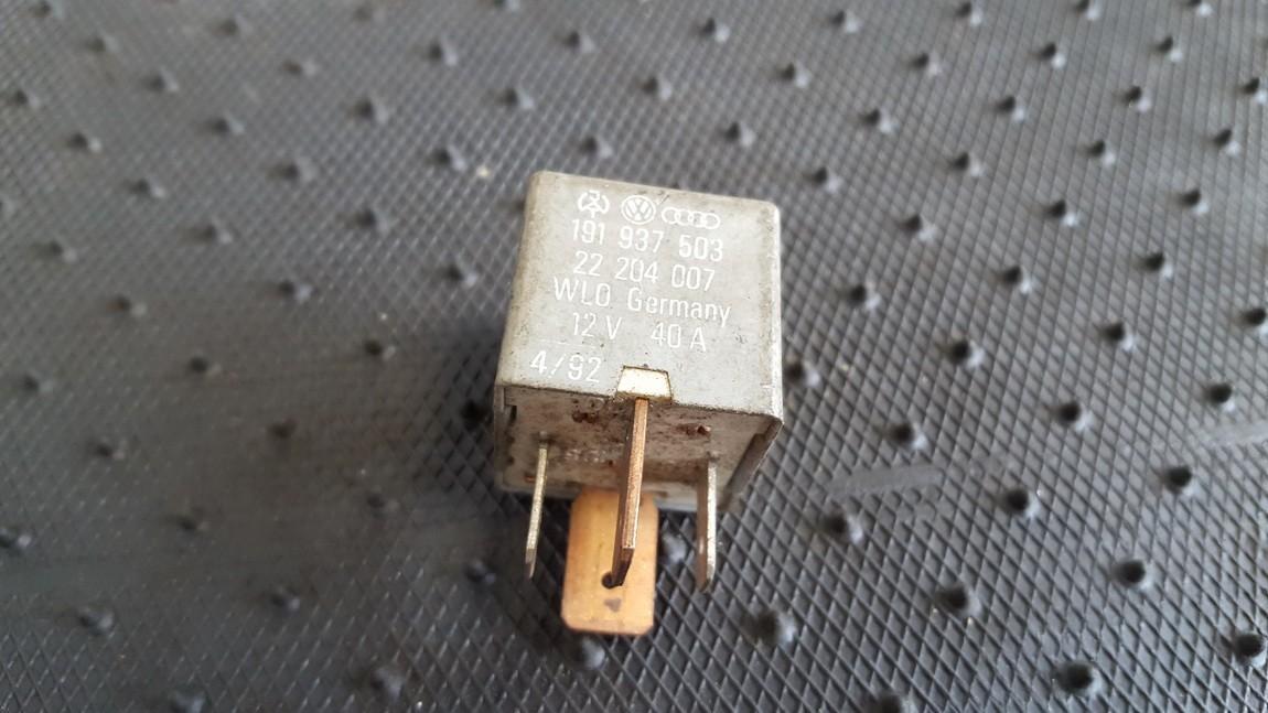 Rele 191937503 22204007 Volkswagen TRANSPORTER 2009 2.5