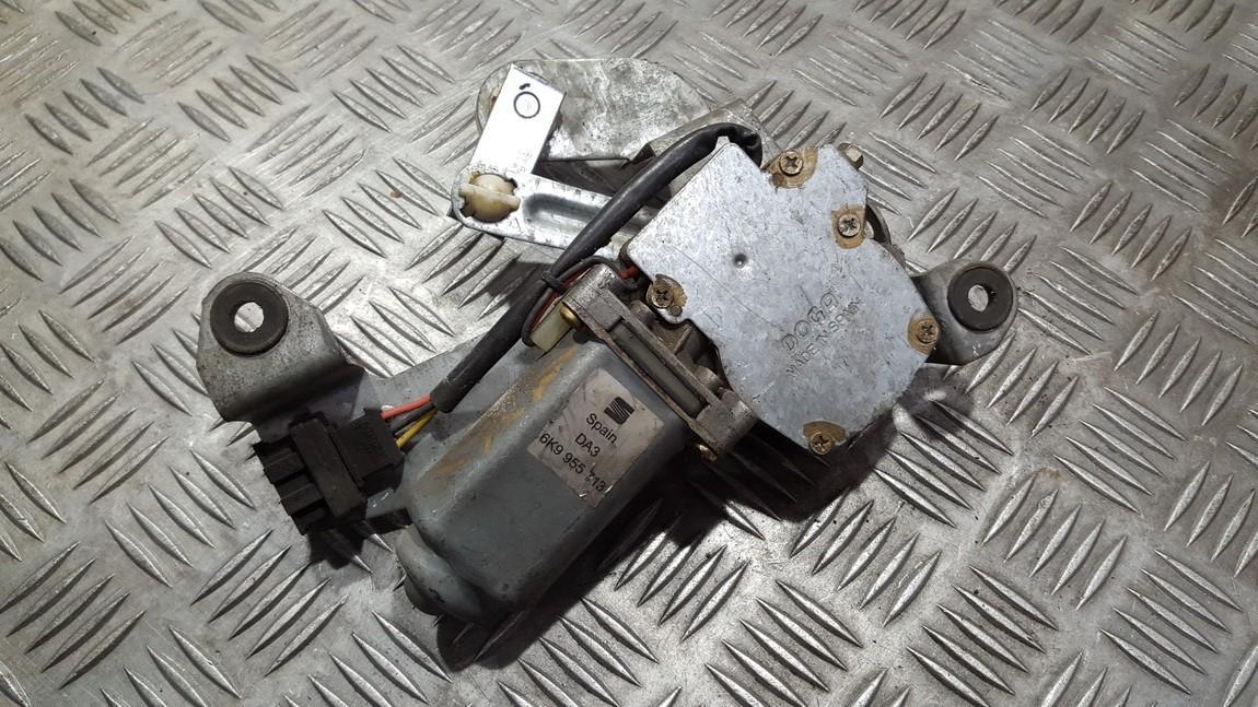Rear wiper motor (Rear Screen Wiper Engine) Volkswagen Caddy 1997    0.0 6k9955713