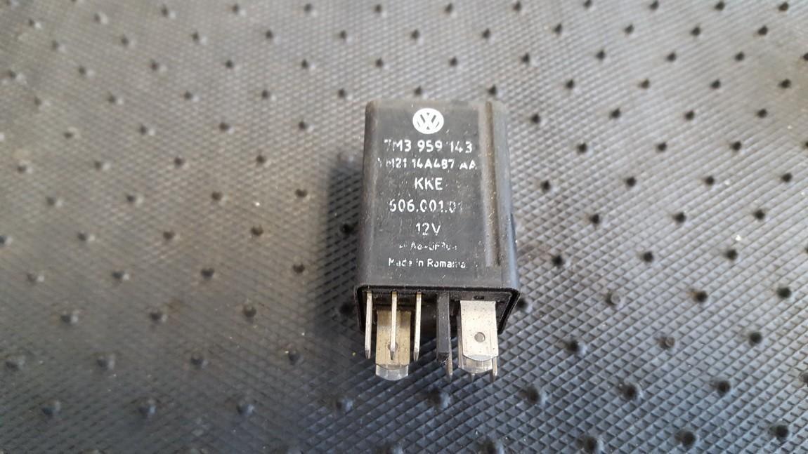 Блок электронный 7M3959143 YM2114A487AA, 606.001.01 Volkswagen SHARAN 2003 1.9