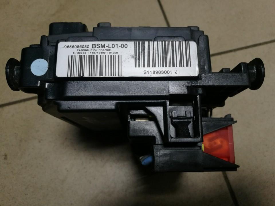 Saugikliu deze 9656086080 BSM-L01-00, BSML0100, L0100, L01-00, S118983001J, S118983001 Peugeot 407 2005 1.6