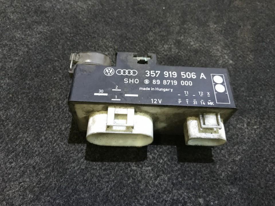 Blower Fan Regulator  Volkswagen Golf 1995    0.0 357919506A
