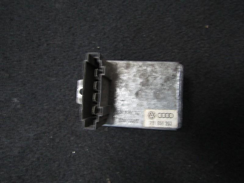 Peciuko reostatas 701959263 0268020312, 5399386020 Volkswagen TRANSPORTER 1992 2.4