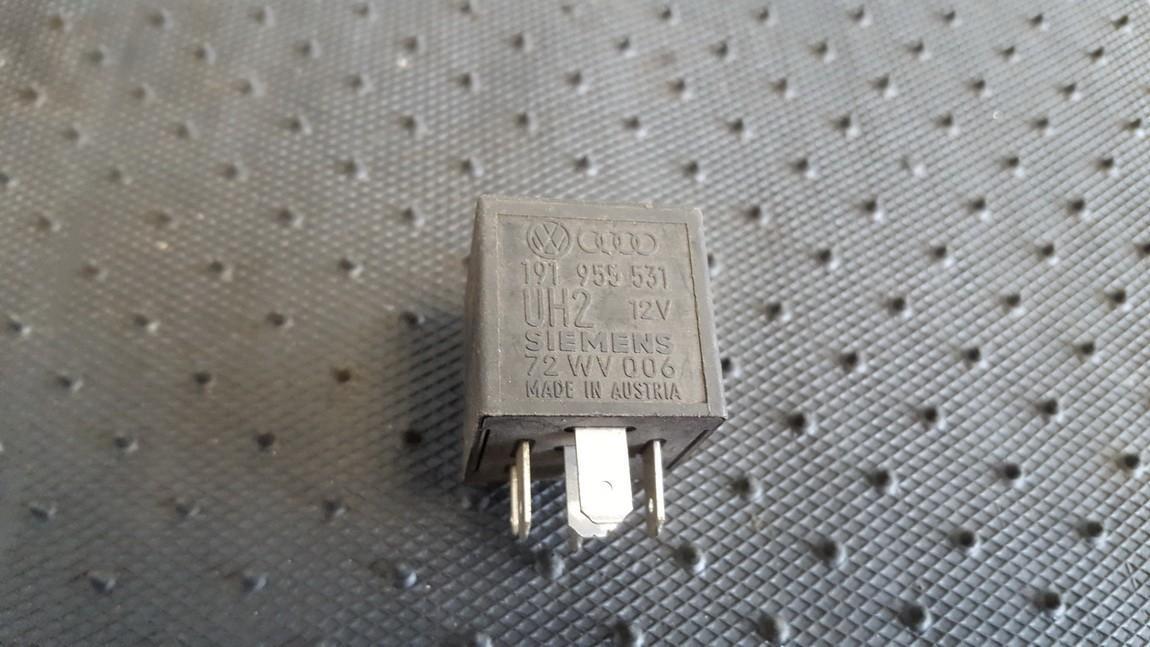 Rele 191955531 72WV006 Volkswagen TRANSPORTER 1992 2.4