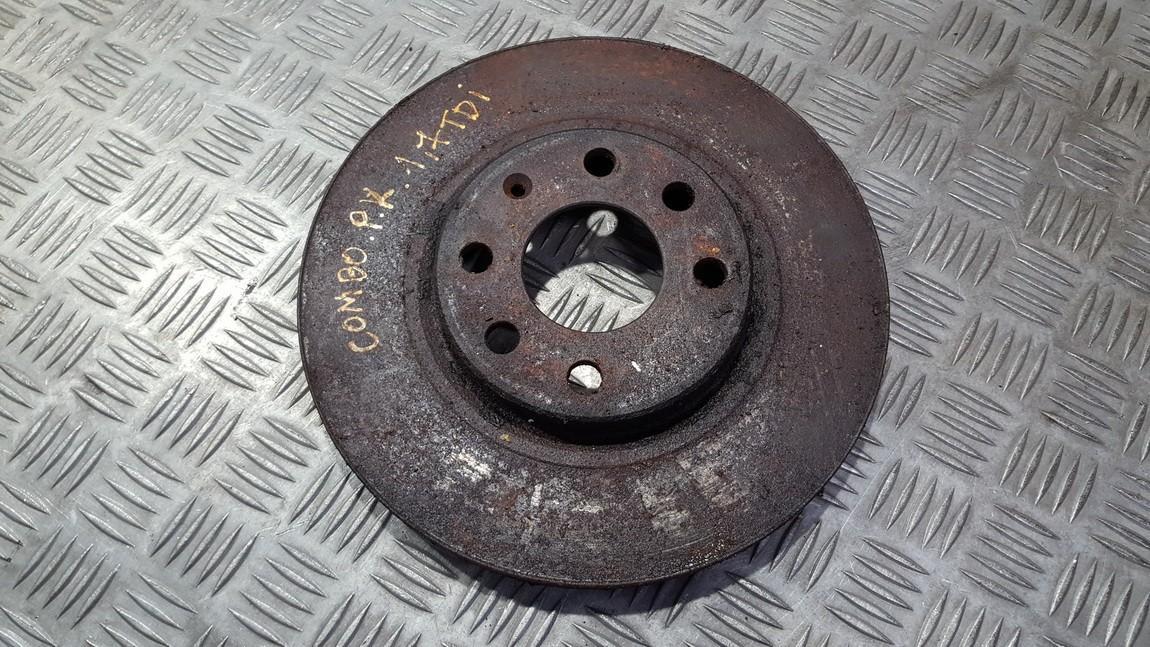 Priekinis stabdziu diskas NENUSTATYTA n/a Opel COMBO 1999 1.7