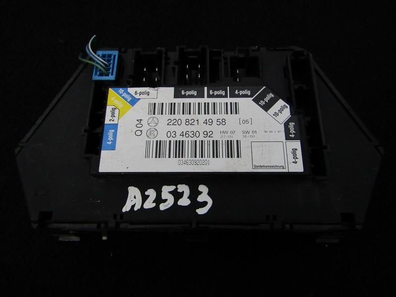 Блок управления двери Mercedes-Benz S-CLASS 2002    3.2 2208214958