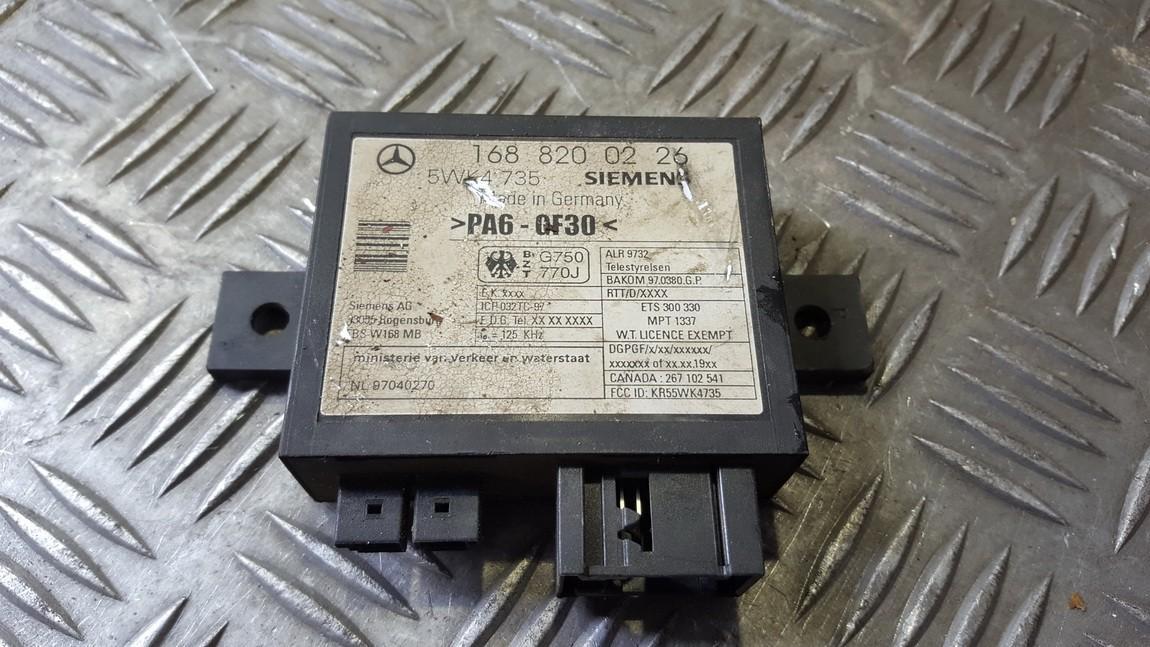 Иммобилайзер блок Mercedes-Benz A-CLASS 1997    1.4 1688200226