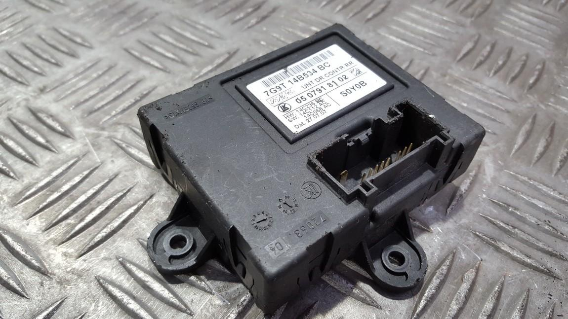 Door control relay Ford S-Max 2008    0.0 7G9T14B534BC
