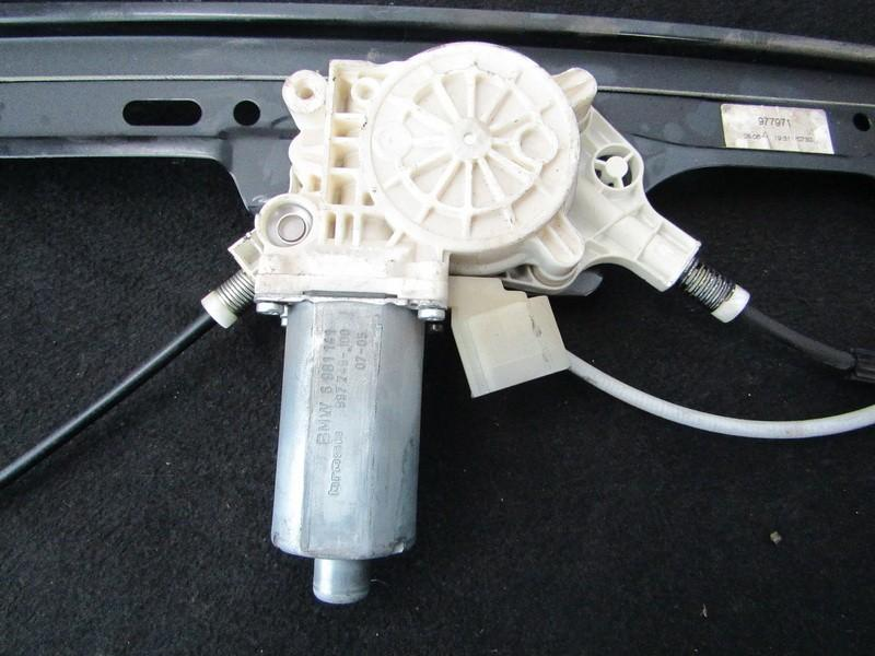 Моторчик стеклоподъемника - передний левый 6981141 997749-100, 0131821459 BMW 5-SERIES 2006 2.0