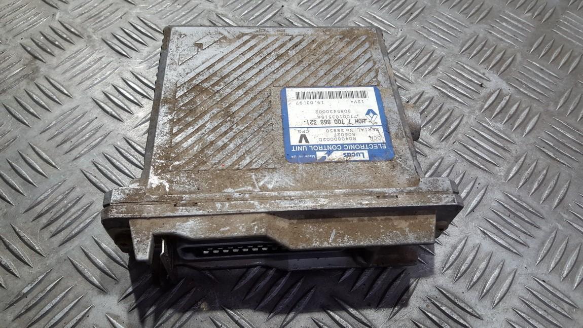 Variklio kompiuteris HOM7700868321 7700103515A R04080002D Volvo V40 1996 1.9