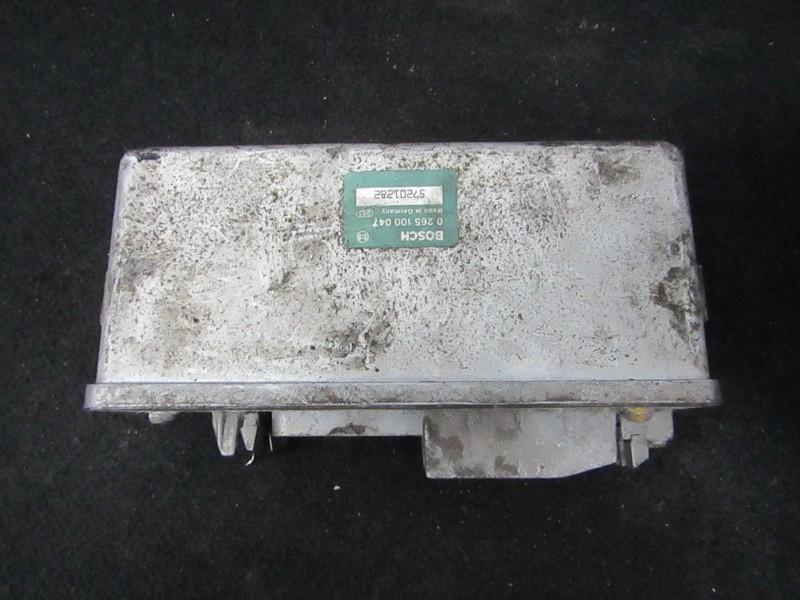 Блок управления АБС 0265100047 57201282 Renault ESPACE 1990 2.1