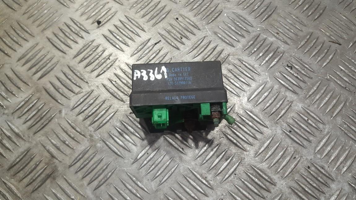 блок управления свечами накаливания Citroen Berlingo 2002    2.2 9639912580