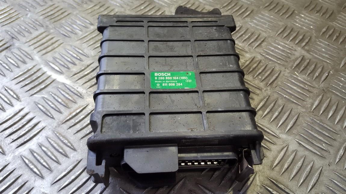 Variklio kompiuteris 0280800104 811906264 Volkswagen GOLF 1995 1.9