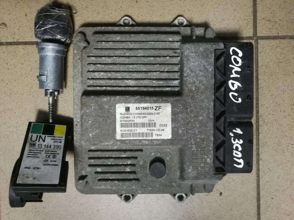 Engine Management Ecu Kit Opel Combo 2006    1.3 55194015