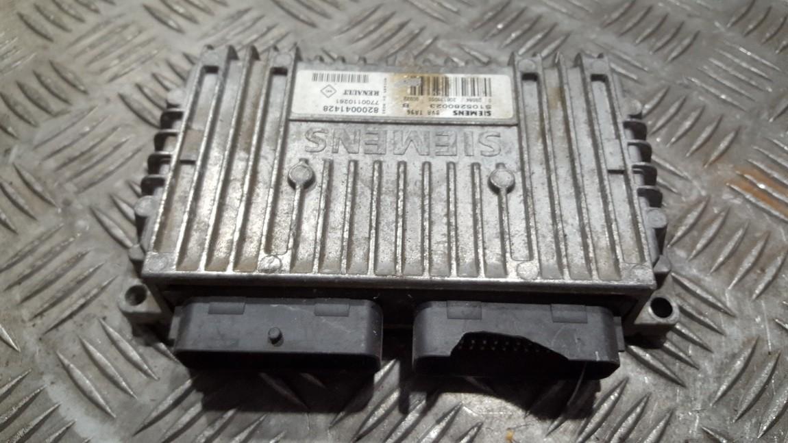 Renault  Clio ECU Engine Computer (Engine Control Unit)