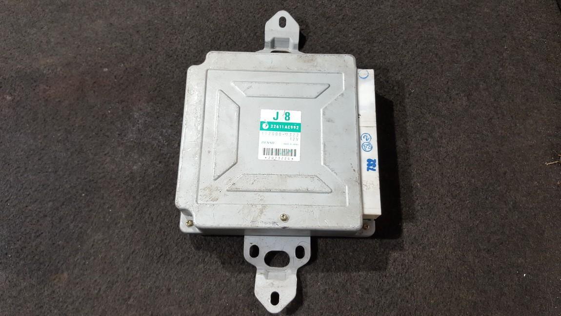 Variklio kompiuteris 22611AE992 112000-7322, 1120007322 Subaru OUTBACK 2005 2.5