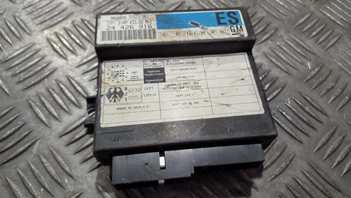 Kiti kompiuteriai 24426916 316237361 Opel OMEGA 1994 2.5