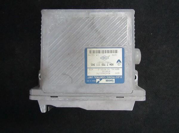 Блок управления двигателем hom7700111342 7700115027, r04080017c, 80833c, 603513 Renault SCENIC 2004 1.5