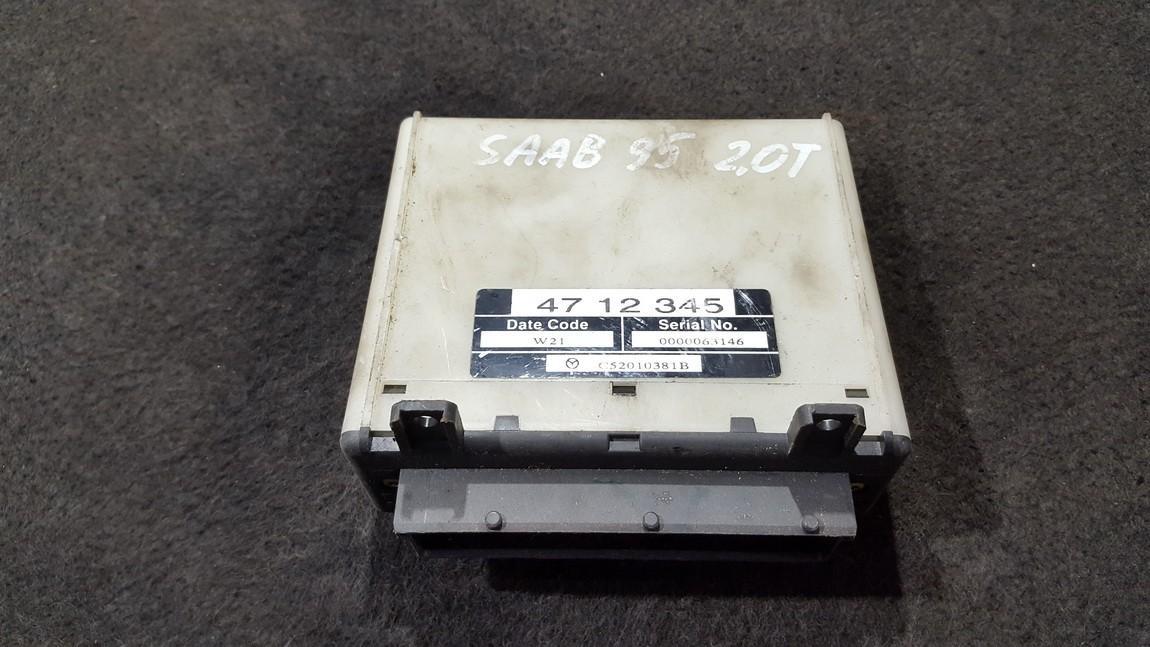 Variklio kompiuteris 4712345 C52010381B SAAB 9-5 2001 3.0