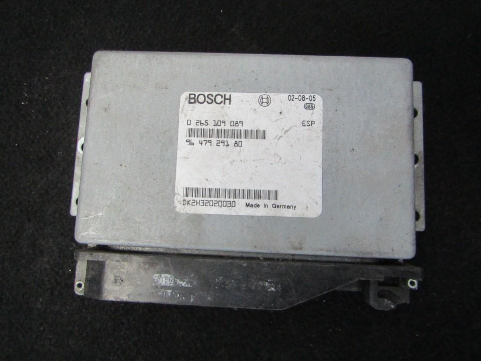 ESP PML BAS CONTROL UNIT ECU Peugeot 406 2003    3.0 0265109089