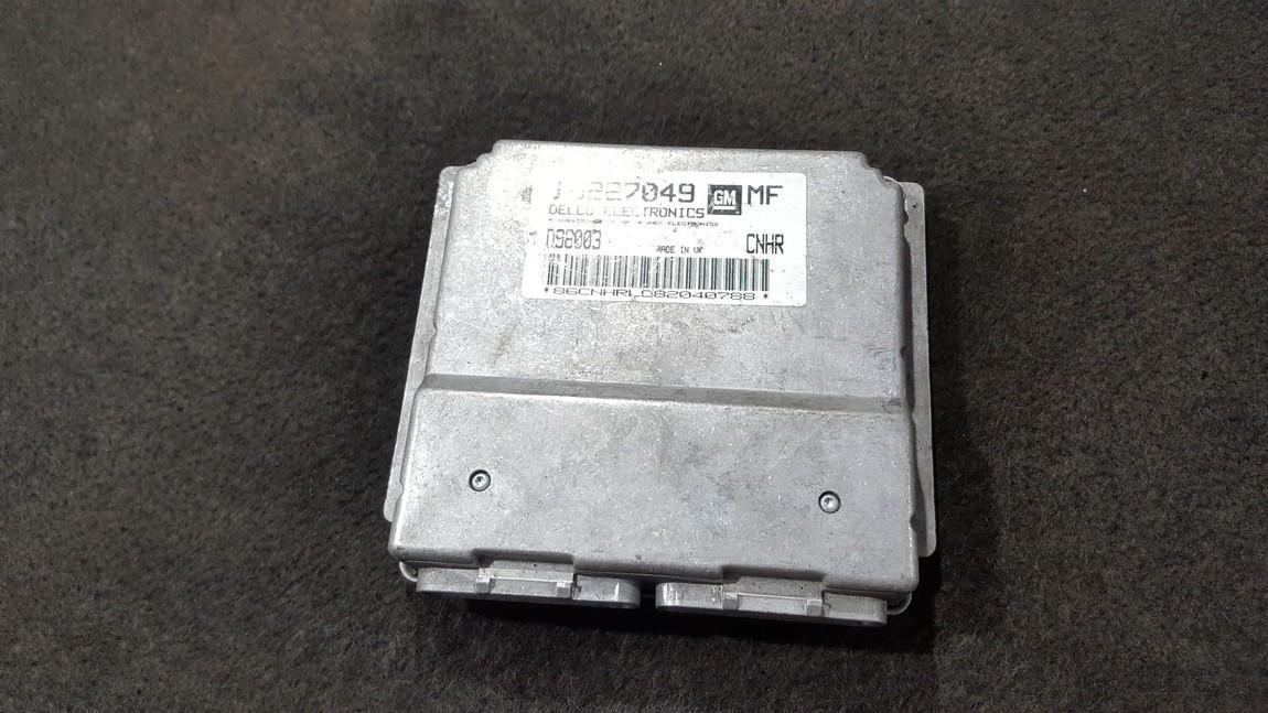Блок управления двигателем 16227049 D98003 Opel ASTRA 1998 2.0