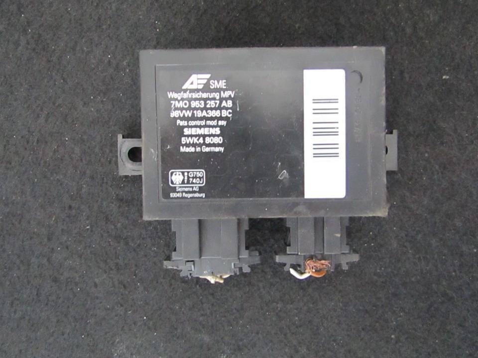 Immobiliser ECU Ford Galaxy 1997    1.9 7mo953257ab