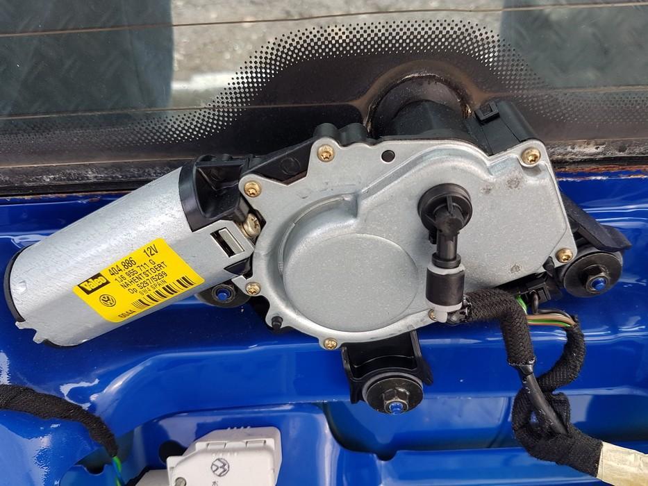 Rear wiper motor (Rear Screen Wiper Engine) Volkswagen Golf 2000    0.0 1J6955711G
