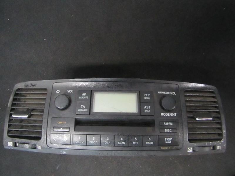 Autoradio Toyota Corolla 2002    1.6 8612002260