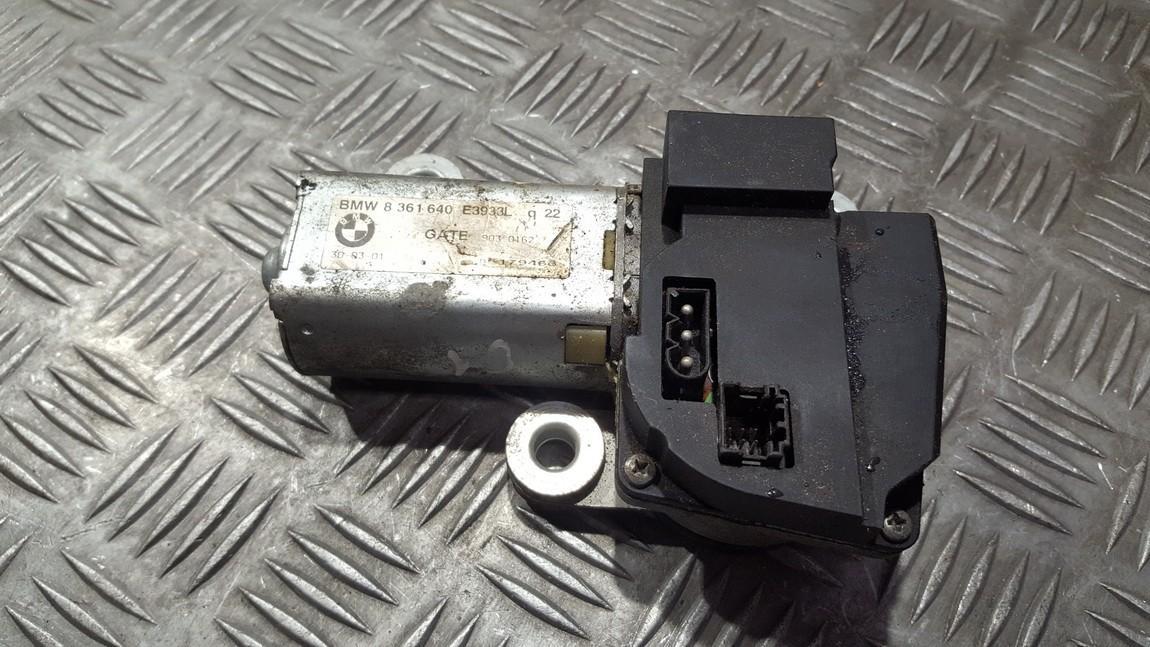 Rear wiper motor (Rear Screen Wiper Engine) BMW 5-Series 2000    0.0 8361640